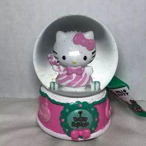 Other - Sanrio Hello Kitty Musical Snow Globe Holidays
